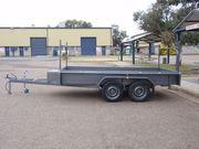 12 x 6,  2 ton, Tipper trailer.