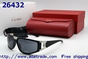 Free shipping, Aoatrade.com Wholesale Prada Sunglasses, Cartier Sunglass