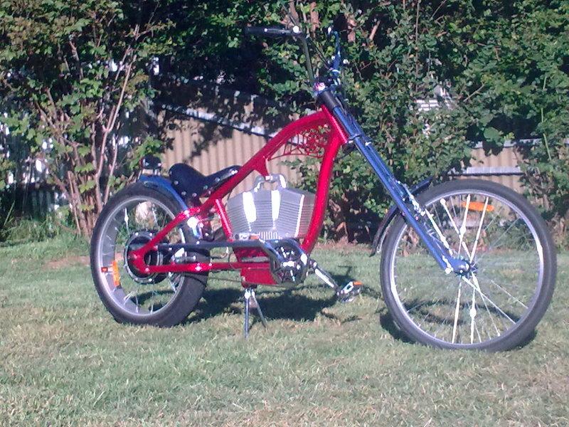 Electric Chopper 48volt 200watt Wagga Wagga Bikes For Sale Bike