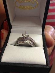 2 BEAUTIFUL DIAMOND RINGS