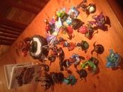 Skylanders,  portal and wii game.