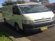 2009 toyota TOYOTA HIACE 12/2009 MANUAL,  LPG, AC/AC,  ONE OWNER,