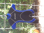 Torpedo Wetsuit- blue and black