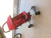 Fold away stroller