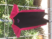 Girls Roxy pink and black wetsuit